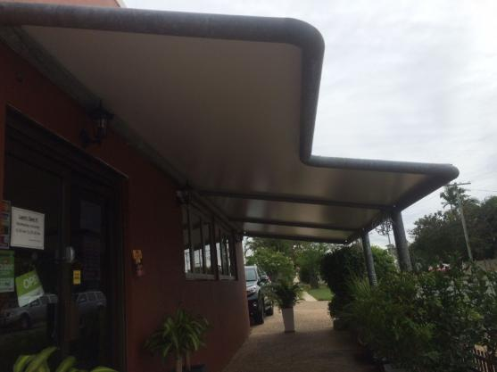 PVC framed shade structure