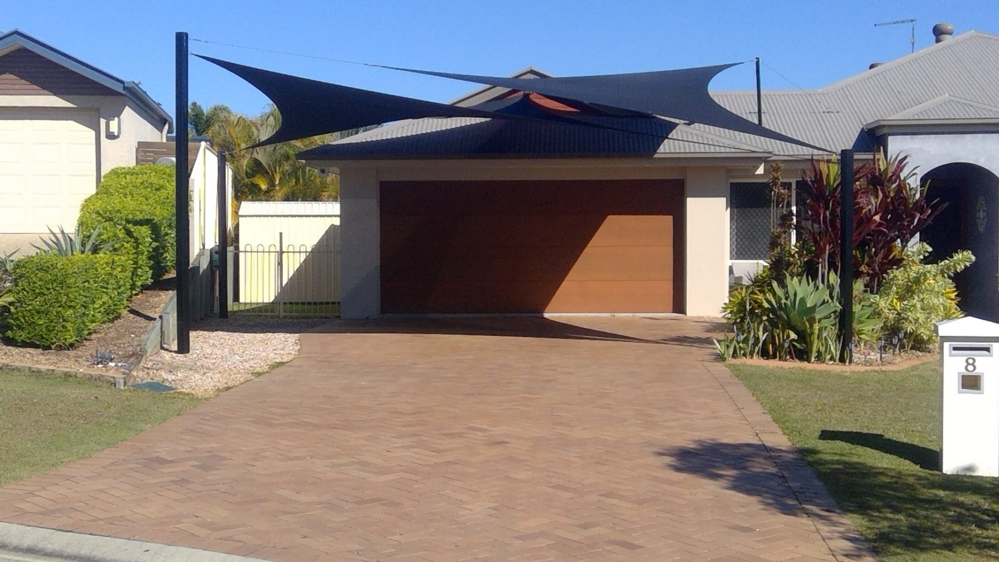 Driveway Shade Sails Brisbane Redcliffe North Lakes