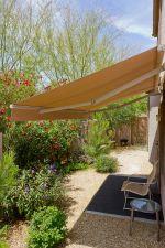 Side path awning