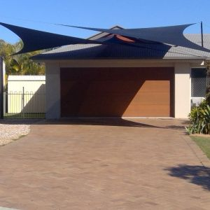 carport driveway shade sails
