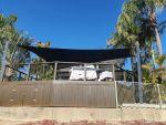 shade sails newport architec 400 fabric black 02